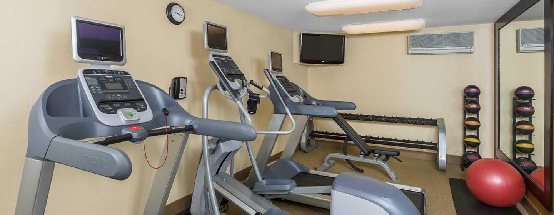 Homewood Suites de Hilton em Westchase, Houston, EUA - Academia de ginástica