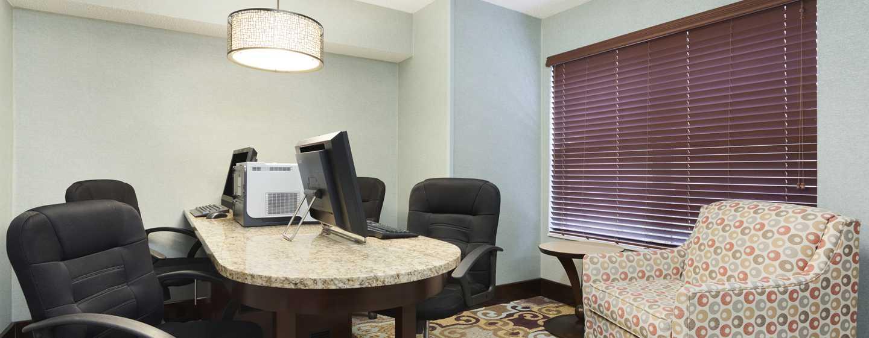 Homewood Suites de Hilton em Westchase, Houston, EUA - Business Center