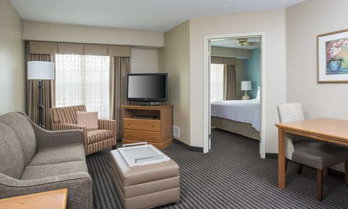 Homewood Suites by Hilton Houston-Westchase, USA - Suite Living Area