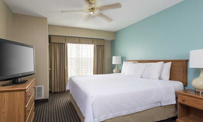Homewood Suites by Hilton Houston-Westchase, USA - King Bedroom