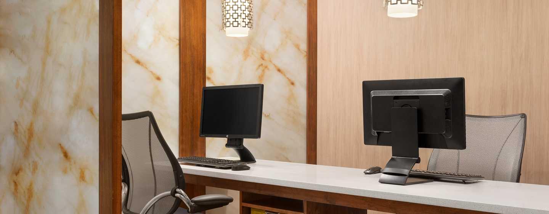 Homewood Suites do Hilton Orlando-International Drive/Centro de Convenções, Orlando, Flórida - Business center moderno