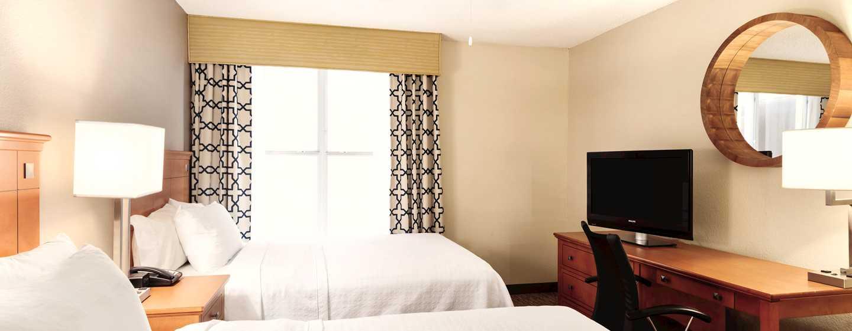 Homewood Suites do Hilton Orlando-International Drive/Centro de Convenções, Orlando, Flórida - Suíte com duas camas queen-size