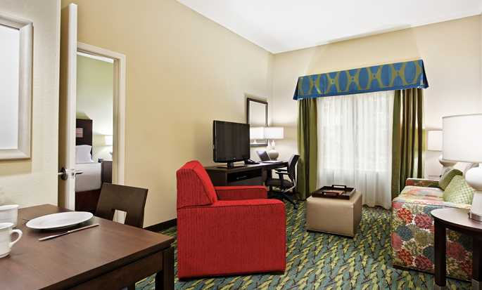 Homewood Suites by Hilton Orlando Airport, FL, USA - One bed living room