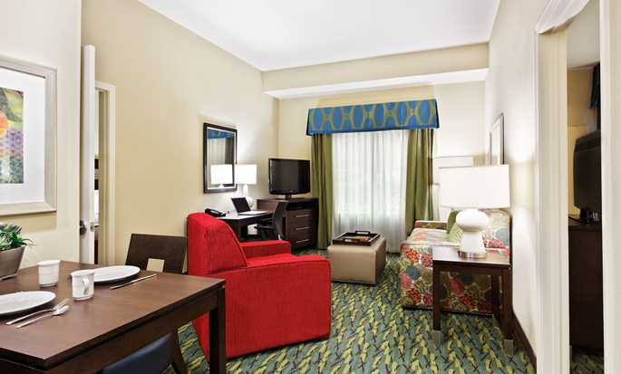 Homewood Suites by Hilton Orlando Airport, FL, USA - Two bed living room