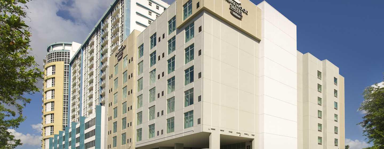 Hotel Homewood Suites by Hilton Miami Downtown/Brickell, EE. UU. - Fachada del hotel