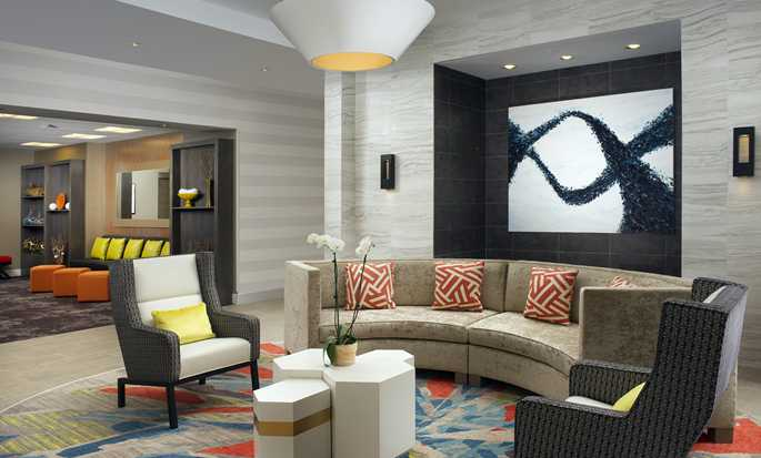 Hotel Homewood Suites by Hilton Miami Downtown/Brickell, EE. UU. - Lobby amplio