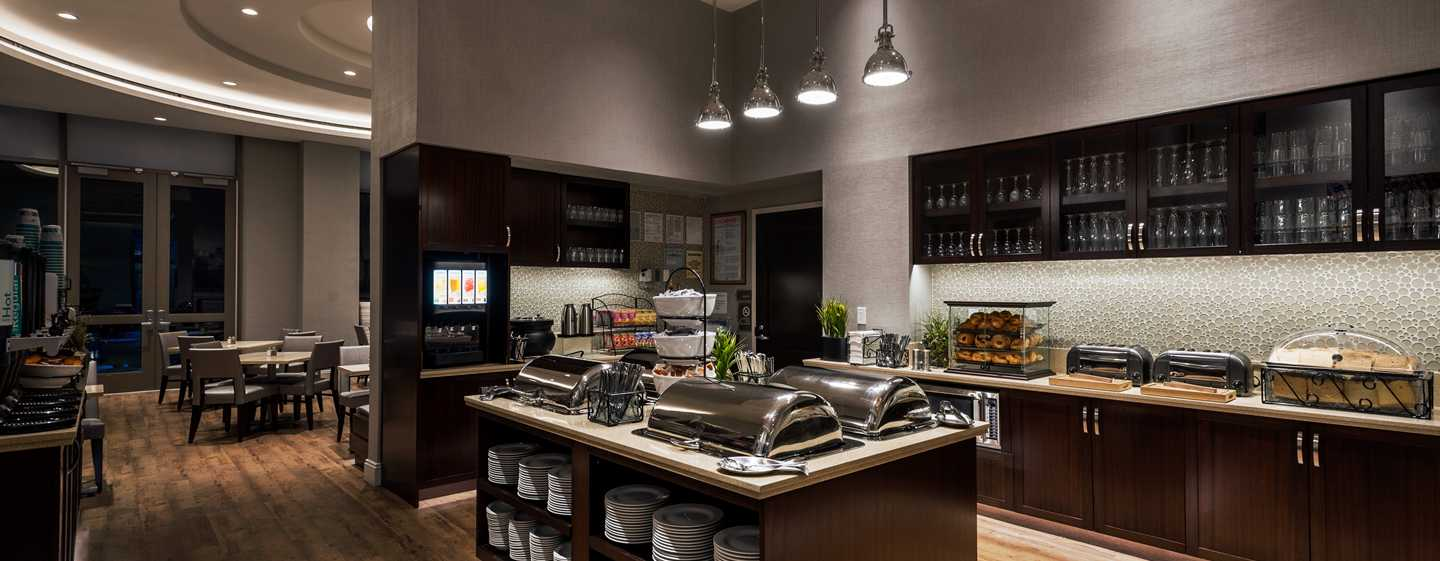Hotel Homewood Suites by Hilton New York/Midtown Manhattan Times Square-South, NY, Stati Uniti - Area per la prima colazione