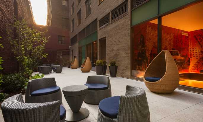 Hôtel Homewood Suites by Hilton New York/Midtown Manhattan Times Square-South, NY - Espace détente sur le toit