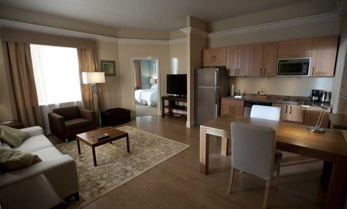 Hôtel Homewood Suites by Hilton Ottawa Airport, Canada - Chambre