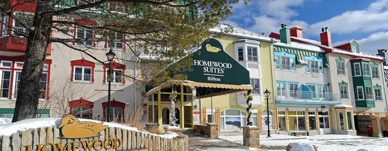 Hôtel Homewood Suites by Hilton Mont-Tremblant Resort - Entrée extérieure