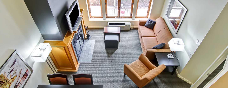 Hôtel Homewood Suites by Hilton Mont-Tremblant Resort - Vue d'un loft