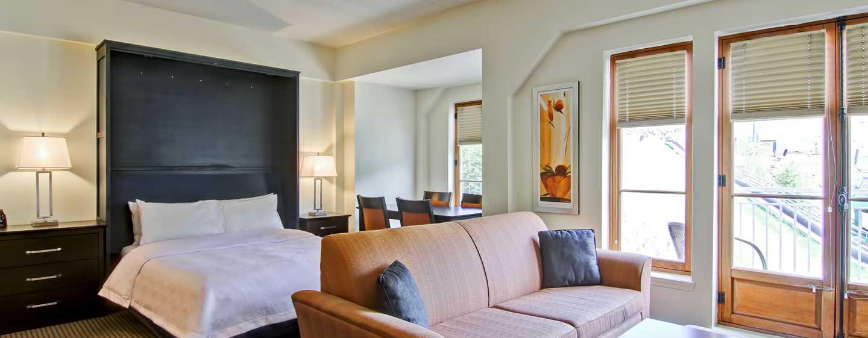 Hôtel Homewood Suites by Hilton Mont-Tremblant Resort - Suite Studio avec grand lit