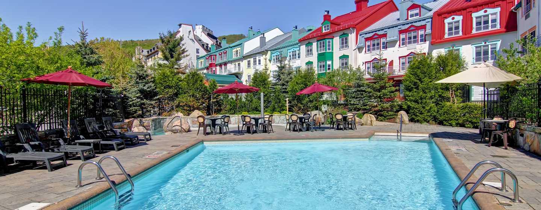 Hôtel Homewood Suites by Hilton Mont-Tremblant Resort - Piscine extérieure