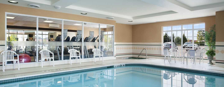 Hôtel Homewood Suites by Hilton Toronto-Mississauga, Canada - Piscine intérieure