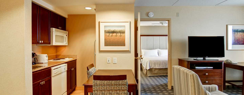 Hôtel Homewood Suites by Hilton Toronto-Mississauga, Canada - Suite d'une chambre