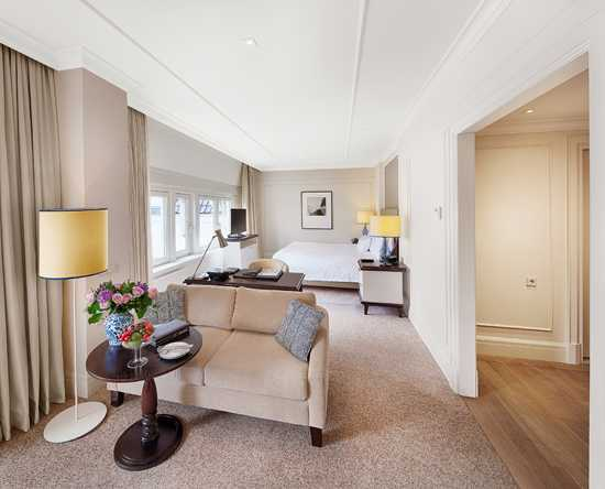 Waldorf Astoria Amsterdam hotel, Nederland - King Junior Suite