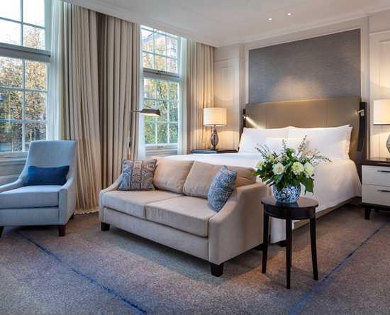 Slaapkamer En Suite : Luxueuze hotelkamers en suites waldorf astoria amsterdam hotel