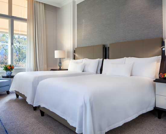 Luxueuze hotelkamers en suites waldorf astoria amsterdam hotel