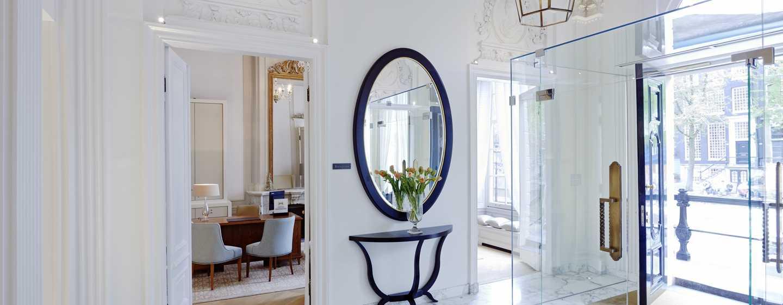 Hôtel Waldorf Astoria Amsterdam - Espace d'accueil
