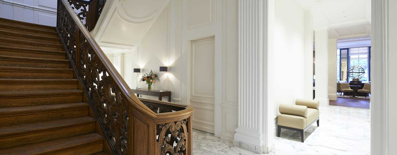 Hotel Waldorf Astoria Amsterdam - Magnífica escalera