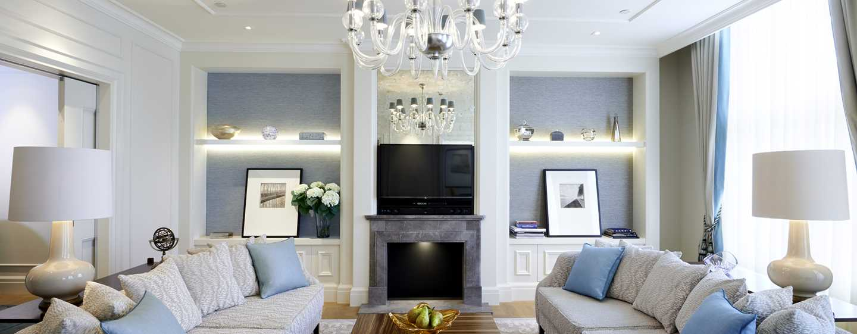 Waldorf Astoria Amsterdam hotel - Woonkamer suite