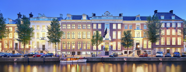 Waldorf Astoria Amsterdam - Fachada del hotel