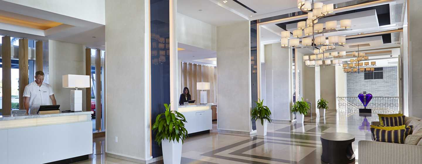 Hotel Boca Beach Club, a Waldorf Astoria Resort, EUA – Lobby do hotel