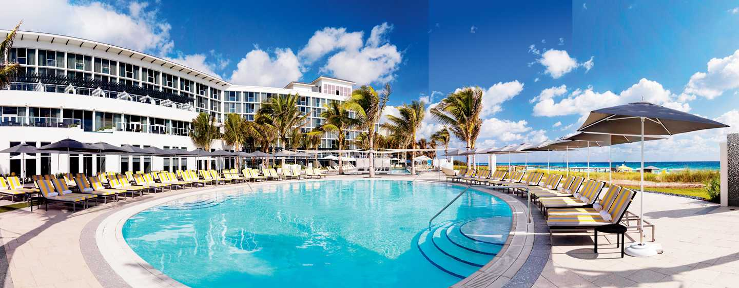 Hotel Boca Beach Club, a Waldorf Astoria Resort, EUA – Área da piscina