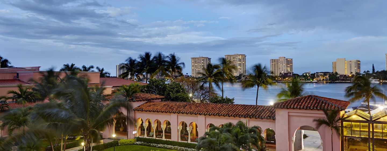 Boca Raton Resort & Club, A Waldorf Astoria Resort, Florida, USA– Ausblick aus der Suite