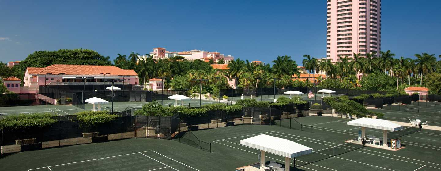 Boca Raton Resort & Club, A Waldorf Astoria Resort, Florida - Canchas de tenis