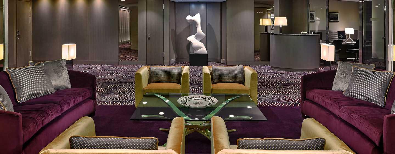 Im Foyer mit Business Center können Sie Ihrer Arbeit nachgehen