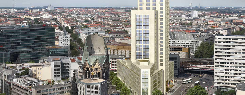 Waldorf Astoria Berlin Hotel, Duitsland - Zicht buitenkant