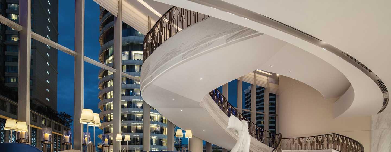 Hotel Waldorf Astoria Bangkok, Thailand - Grand Staircase