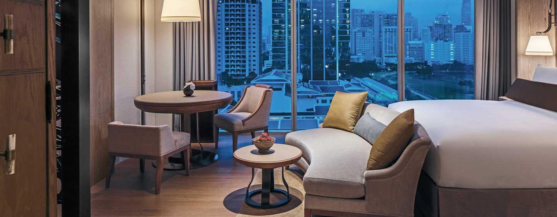 Hotel Waldorf Astoria Bangkok, Hotel Thailand Waldorf Astoria Bangkok, Thailand - Kamar Deluxe dengan Tempat Tidur King