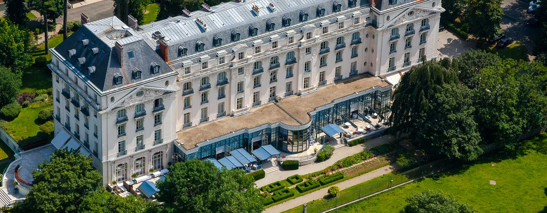 Hôtel Waldorf Astoria Trianon Palace Versailles, France - Vue aérienne