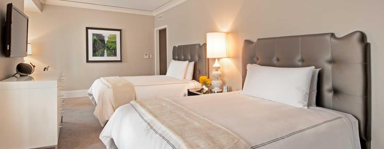 Hôtel Waldorf Astoria Chicago - Chambre Deluxe avec lits doubles