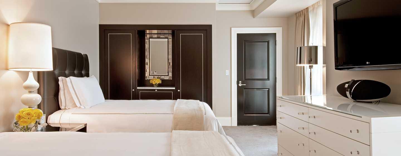 Hôtel Waldorf Astoria Chicago - Chambre Deluxe avec deux grands lits