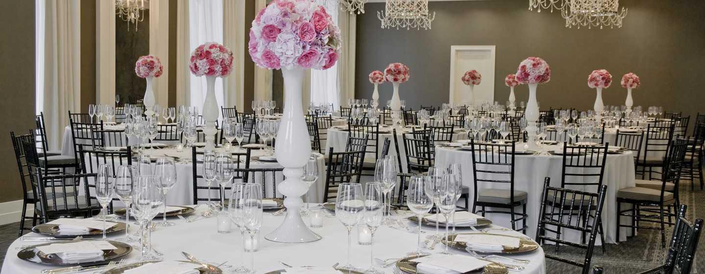 Hôtel Waldorf Astoria Chicago - Salle de réception Sinclair
