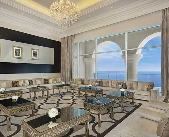 Waldorf Astoria Dubai Palm Jumeirah, Förenade Arabemiraten – Royal-svit