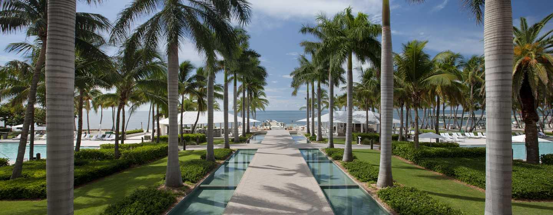 Hôtel Casa Marina, a Waldorf Astoria Resort, Floride, É.-U. - Sentier vers la plage