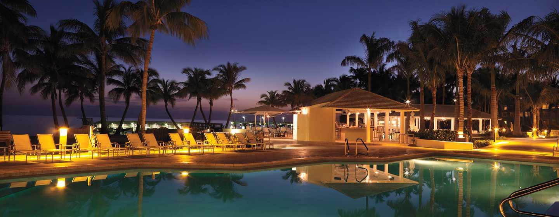Hôtel Casa Marina, a Waldorf Astoria Resort, Floride, É.-U. - Piscine du complexe