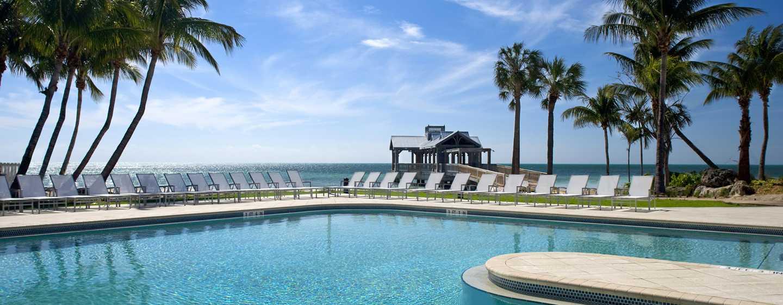 Hôtel The Reach, a Waldorf Astoria Resort, Florida, É. U. - Piscine du complexe