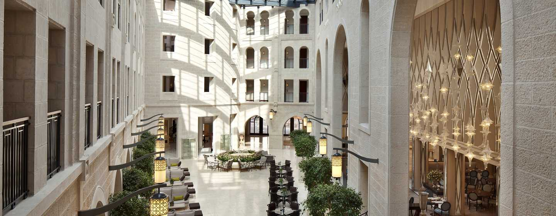 The Waldorf Astoria Jerusalem Hotel, Israel – Atrium