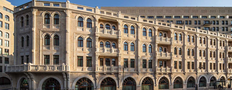 Hôtel Waldorf Astoria Jerusalem, Israël - Vue de l'extérieur