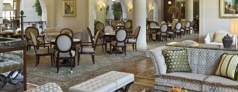 The Waldorf Astoria Jerusalem Hotel, Israel – The King's Court Restaurant