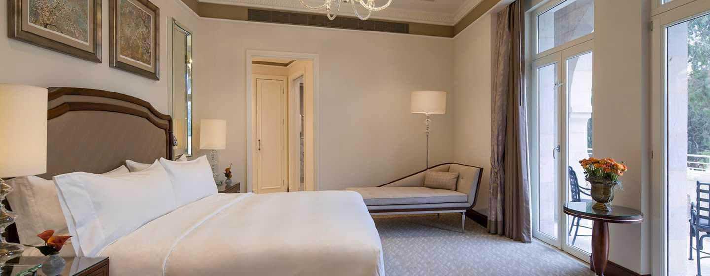 The Waldorf Astoria Jerusalem Hotel, Israel – Suite mit einem Schlafzimmer