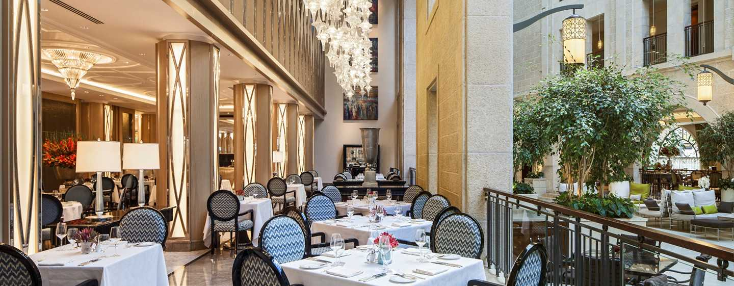 The Waldorf Astoria Jerusalem Hotel, Israel – The Palace Restaurant