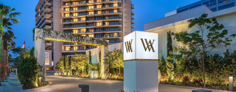 Waldorf Astoria Beverly Hills, California - Entrada de WABH