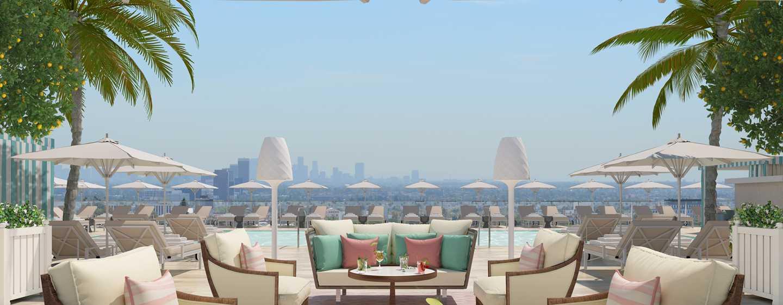 Waldorf astoria beverly hills - Hotel nice piscine sur le toit ...
