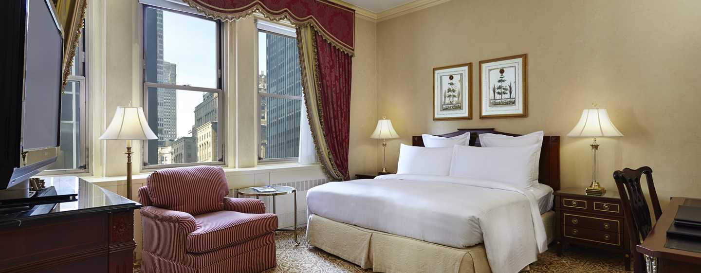 Waldorf Astoria New York Hotell, USA – Deluxe-gjesterom